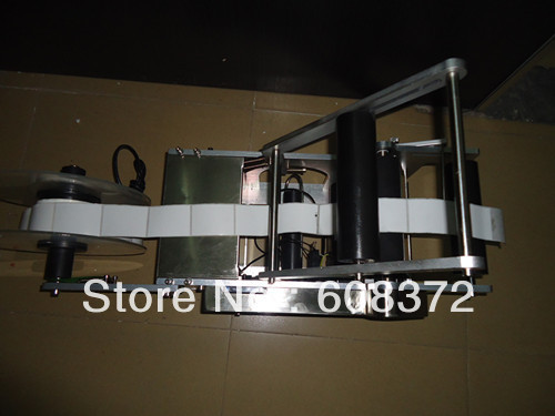 Automatic Labeler Machine bottle packing machine, Round Bottle Labeling Machine with Pedal switch