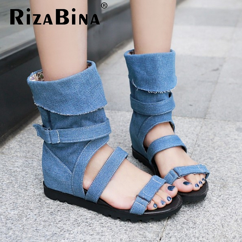 women ankle strap leisure summer falt sandals sexy fashion news ladies heeled footwear heels shoes size 34-39 P18105<br>