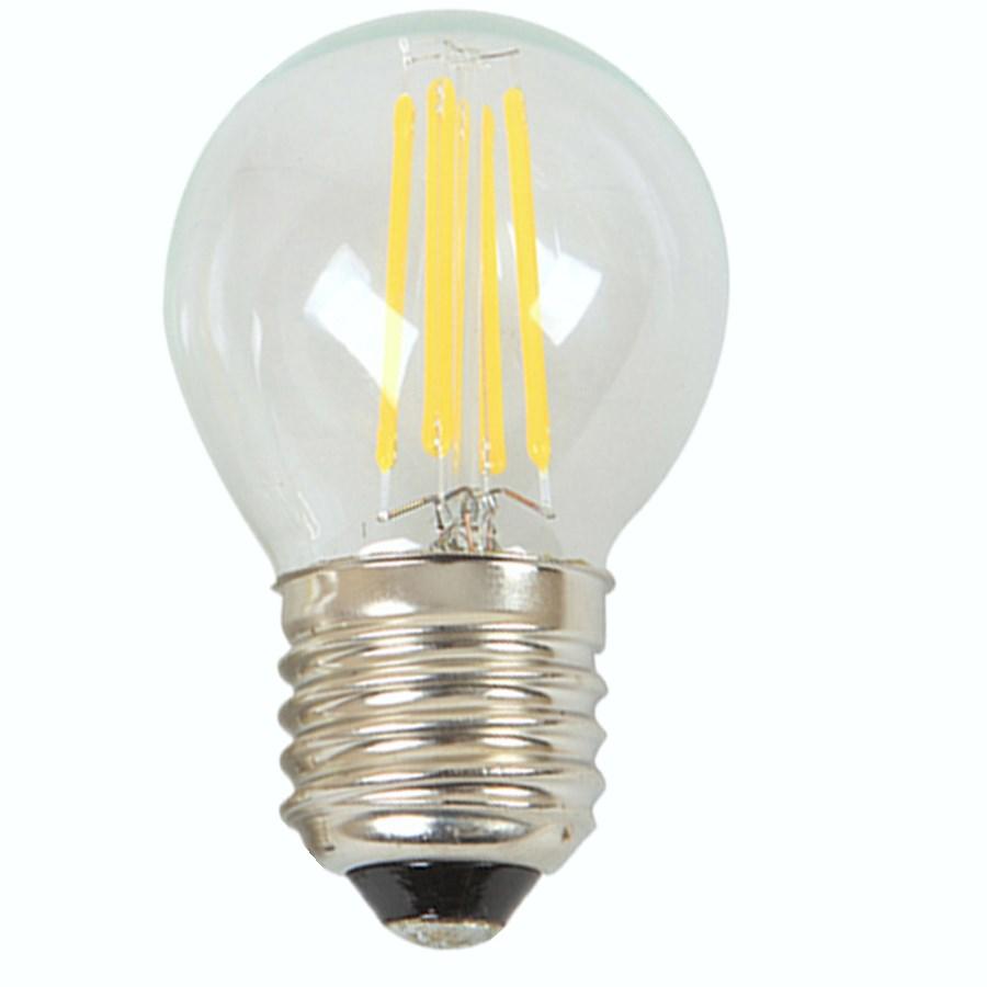 Led Filament E27 E14 Bulb Candle Light 2w 4w 220v 230v Warm Cool Natural White Glass 100 Safety