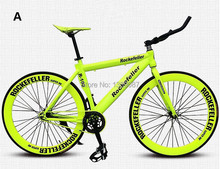 R100 DIY 60MM Fashion Muscle Fixed Gear Bike Road Bicycle Multi Colored  (China (Mainland))