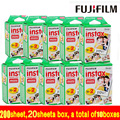 200sheet free shipping Fujifilm Instax Mini Film White Edge 200pcs For Instax mini 7s 8 25