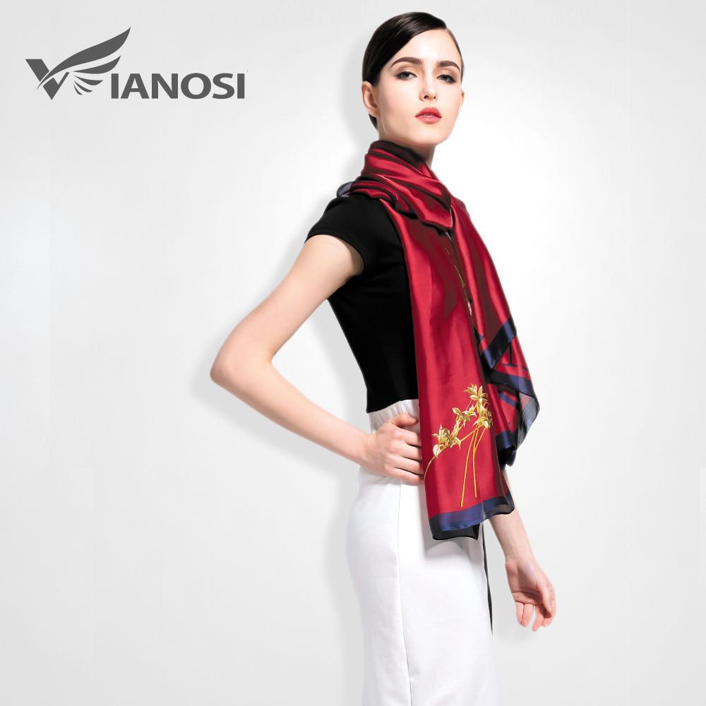 vianosi 2016 fashion silk scarf bohemia style