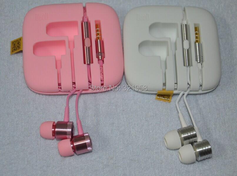 Золото кристаллический розовый черный XIAOMI поршень II 3 наушников гарнитуры наушники с дистанционным и микрофоном для XIAOMI mi4, Примечание телефон