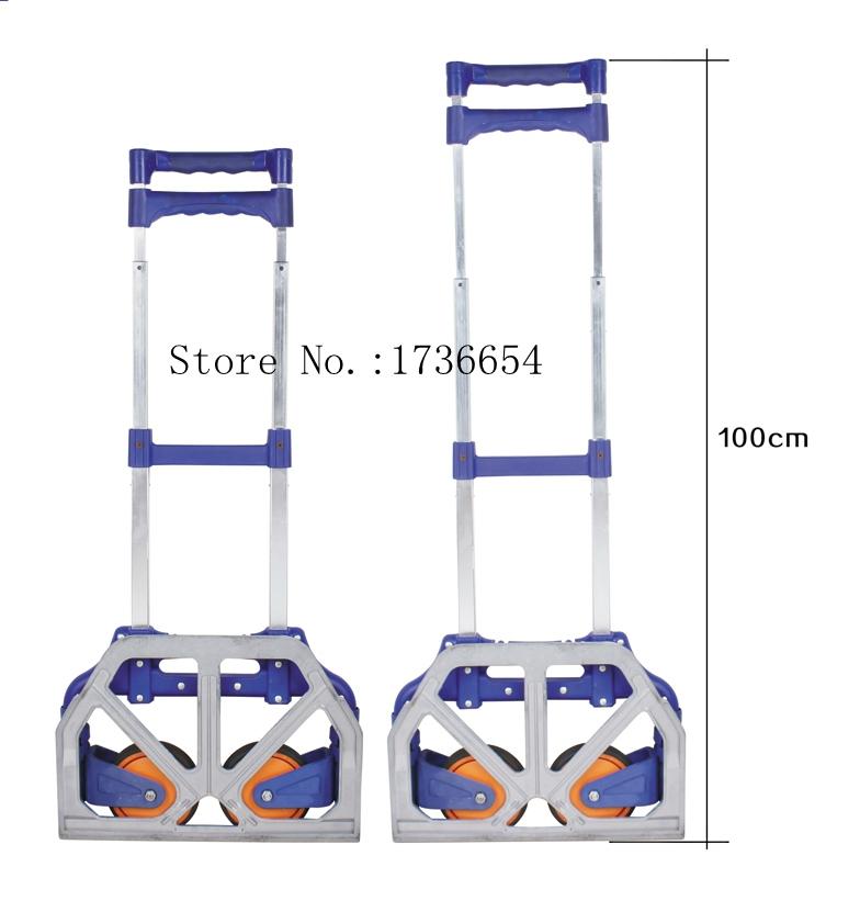 GF-90572 2015 Daily use at home small portable car Folding Hand shopping cart luggage cart trolley car retractable bike trailer(China (Mainland))