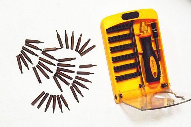 WHOLESALE watch clock tel repairing hardware hex socket 5start point screw driver set proskit tools S2 H4*28mm,NO.892-B