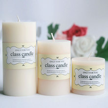 Class pillar candle – vanilla scented