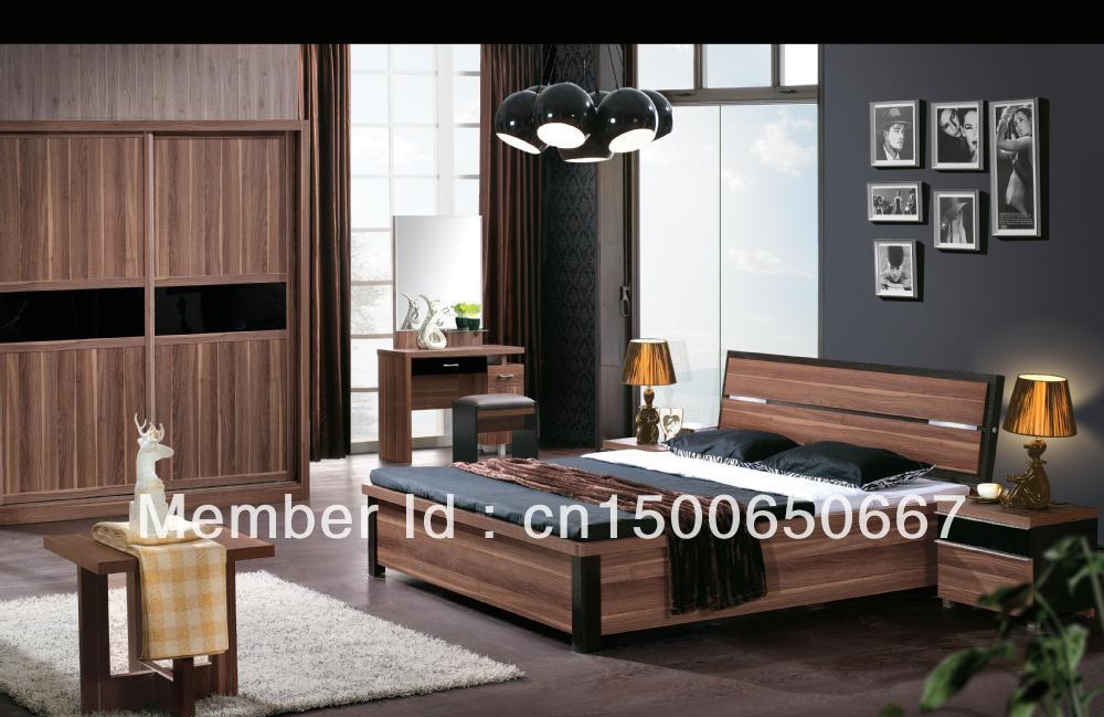 Mobilier de chambre / Yazhou lit king size avec boîte de ...