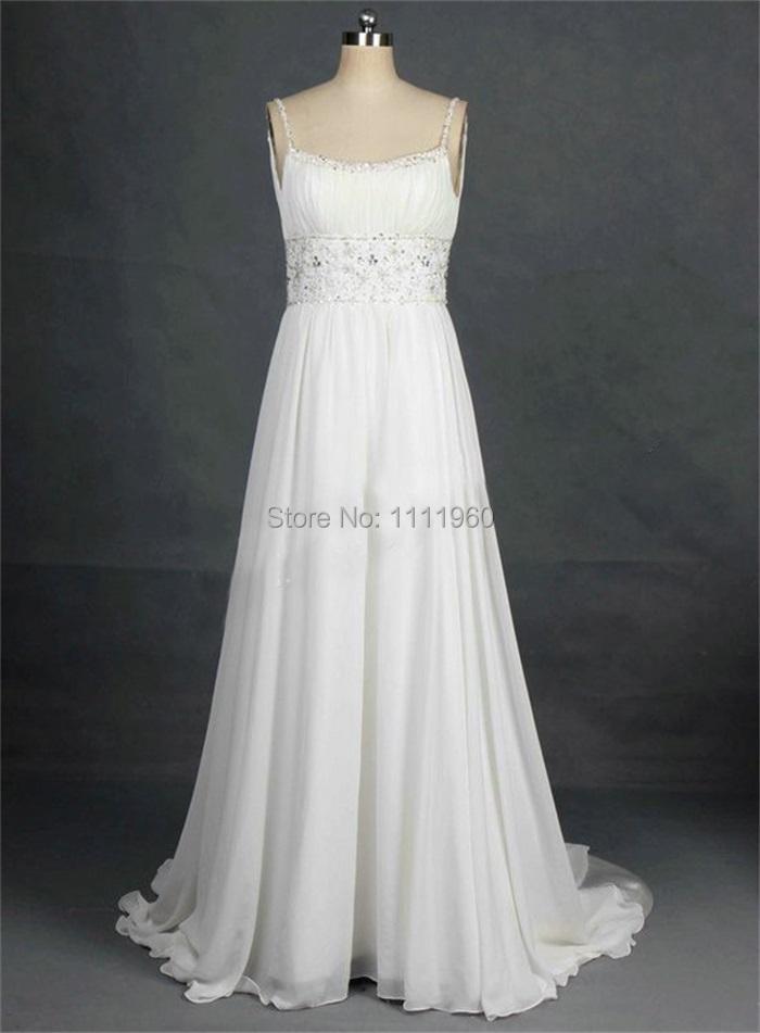 Buy real photo beach wedding dress with for Cheap custom wedding dresses