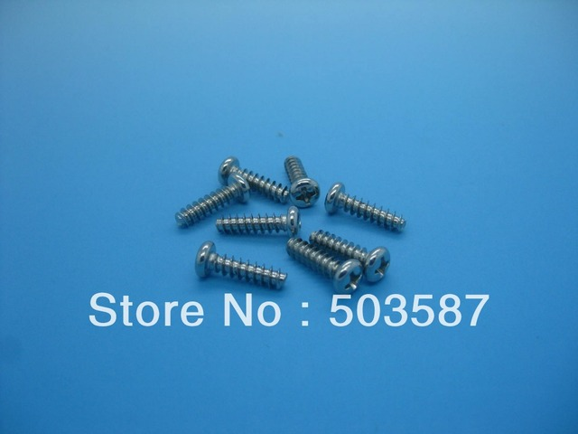 One set of hardening screw for Neato XV-11 XV-12 XV-15 XV-21 Vacuum cleaner 8pcs with Free shipping!