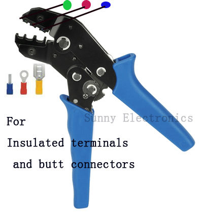 buy insulated terminals crimping and butt connectors tool for plier crimper 0. Black Bedroom Furniture Sets. Home Design Ideas