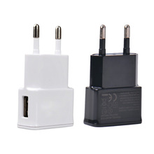 New 2016 EU plug Adapter 5V 1A EU USB Wall Charger Mobile phone charger Galaxy S5 Note4 N9000 mobile phone charger Drop Shipping(China (Mainland))