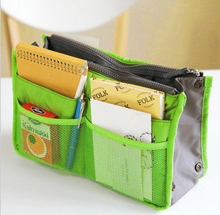 Good 5 Colors Promotions Lady's organizer bag handbag organizer travel bag organizer insert with pockets storage bags(China (Mainland))