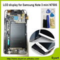 N7505 Sreen With Frame Touch Digitizer Full LCD display Assembly white gray in stock For Samsung
