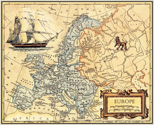 Achetez en gros imprimer europe carte en ligne des - Art salon definition ...