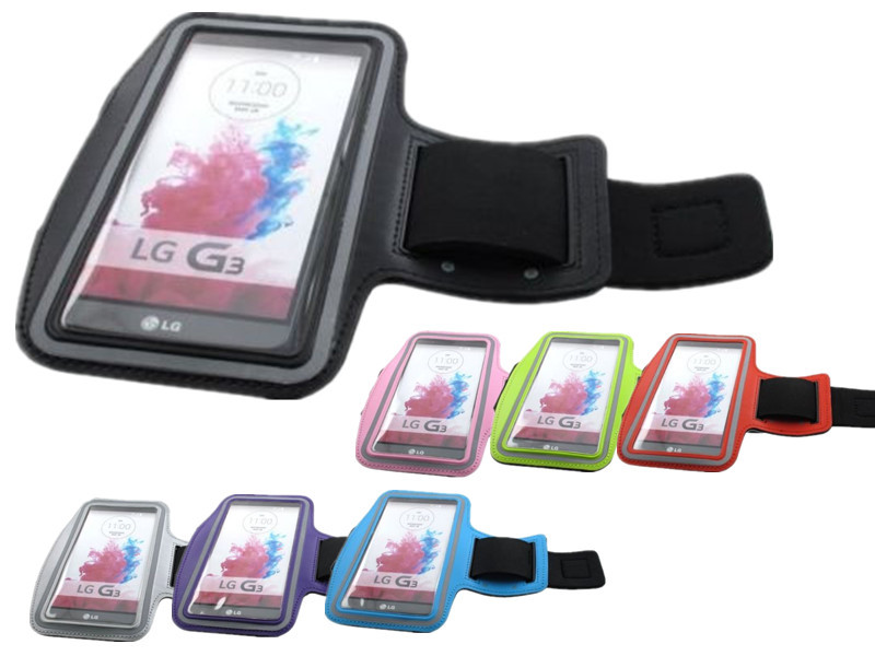 For LG G3 5.5'' Sports Arm band Neoprene Running Jogging Cycling Case Cover Bag with Key Slot T01(China (Mainland))