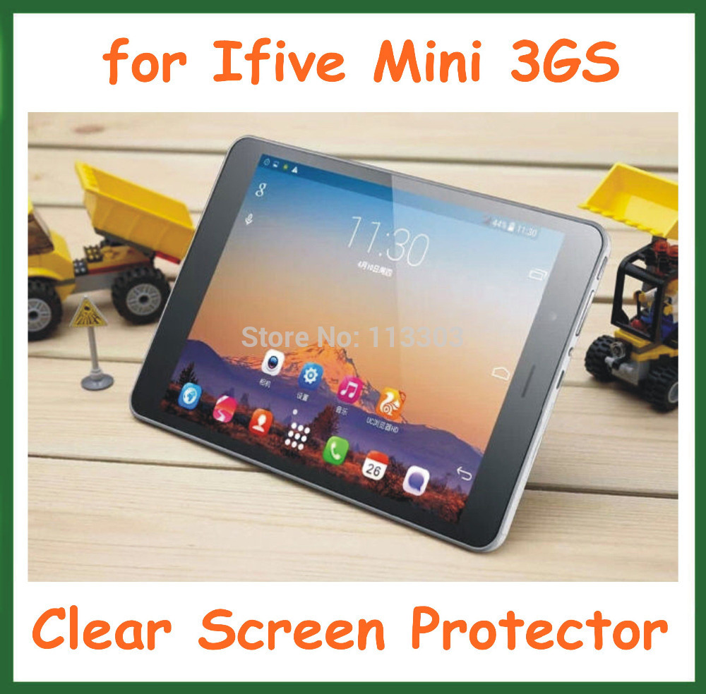 Ultra Clear Screen Protector Protective Film FNF iFive Mini 3GS 7.9 inch Tablet PC NO Retail Package Size 195x132mm - Doldol (HK store Co., Ltd)