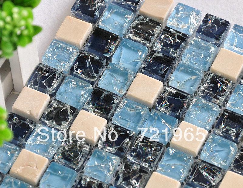 Crystal glass mosaic discount tile kitchen backsplash glass mosaic wall tiles CKMT021 deco mesh swimming pool tiles glass mosaic<br><br>Aliexpress