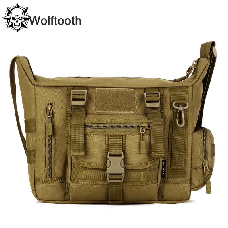 A4 14 Inch Laptop Shoulder School Bag Ultra-light Hunting  Fishing Men Messenger Crossbody Tactical Shoulder Bag Military Bags<br><br>Aliexpress