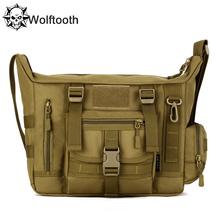 A4 14 Inch Laptop Shoulder School Bag Ultra-light Hunting Fishing Men Messenger Crossbody Tactical Shoulder Bag Military Bags