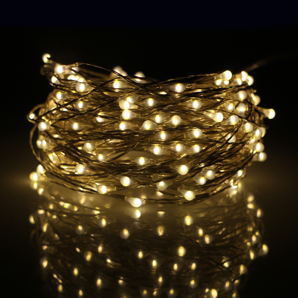 Led String Lights With Battery : Online Buy Wholesale battery powered flashing led string lights red from China battery powered ...