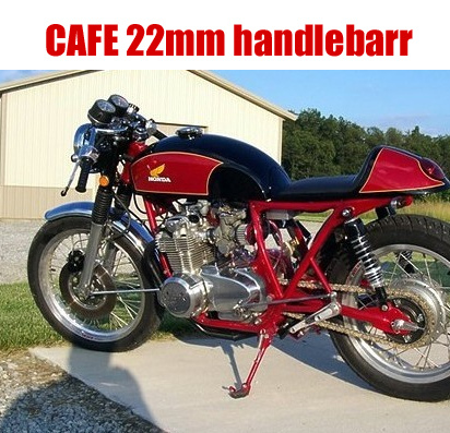 CAFE motorcycle refit plating / Black Retro diameter 22mm handlebarr separation leading separation handlebars<br><br>Aliexpress