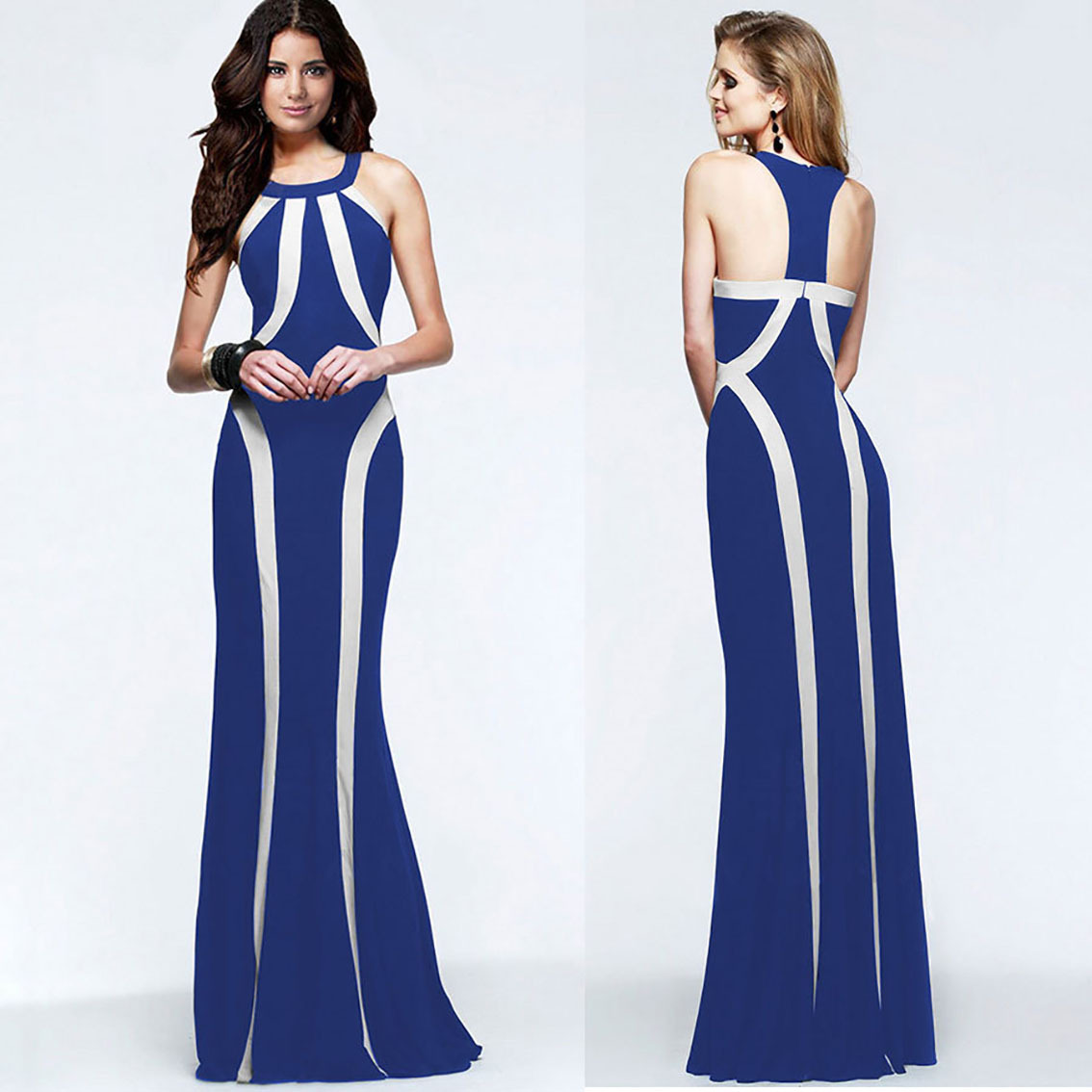 Designer Halter Dresses Promotion-Shop for Promotional Designer ...