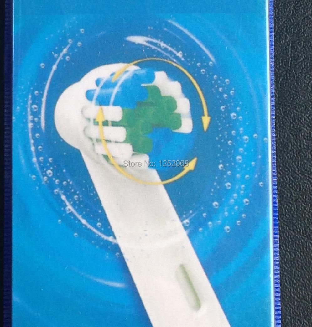 80pcs sb-17a eb17-4 High quality Precision Clean Electric tooth brush head Braun for b oral toothbrush heads(4pcs=1pack)(China (Mainland))