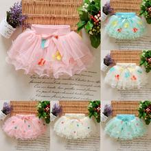 Factory Cheap Sale Fashion 0-24 Months Newborn Baby Girl Tutu Skirt Bow Chiffon Ball Gown For Girls Mini Skirts S-10(China (Mainland))