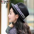 Hot Fedora Jazz Hat Trilby Women Female Autumn And Winder New British Style Wool Woolen Ladies