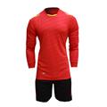 2015 16 New Men s Long Sleeve Jersey Suit Blank Training Survetement Football Tracksuit Sports Uniforms