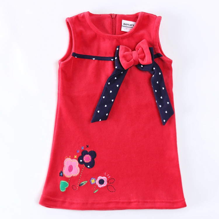 Designer Kids Clothes Cheap embroidery flowers children