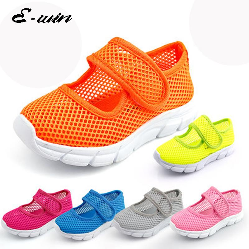 2016 summer kids sandals new children's sports shoes casual shoesboys girls running shoes breathable mesh shoes baby sandals