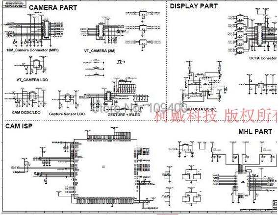 I9505 оригинальные схема +