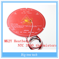 RepRap 3D Printer Parts PCB MK2Y Heatbed Cable NTC Thermistors with DuPont head PCB Heated Bed