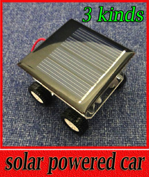 Solar Car Panels Generate Electricity of Scientific Experiments Technology Handmade Model DIY Toys