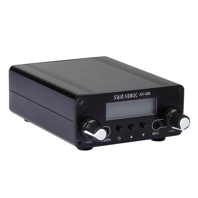 SainSonic 0.5W AX-05B (CZH-05B) 76-108Mhz Long Range Dual Mode Stereo Broadcast Home FM Transmitter FCC Granted(China (Mainland))