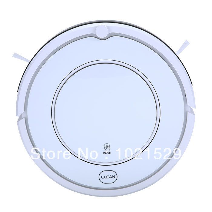 New Automatic Intelligent Robot Vacuum Cleaner KK8 One-button Operation Cleaning Machine(China (Mainland))