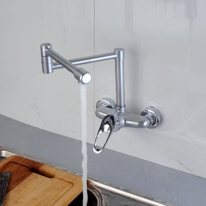 hot and cold kitchen faucet can be rotated wall kitchen wall mount kitchen faucets wall mount kitchen faucet buy