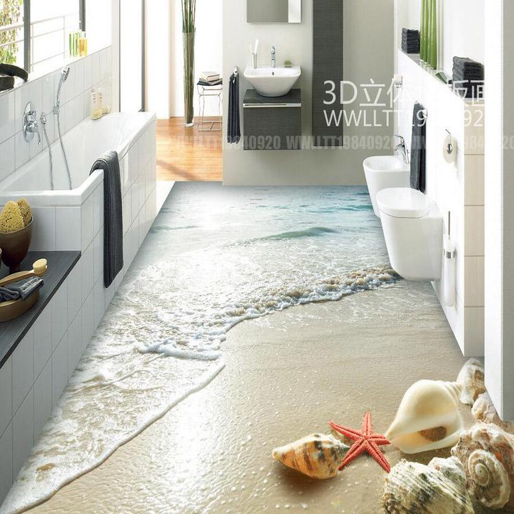 Keuken Behang Kopen : Ocean View Floor Tile Shell