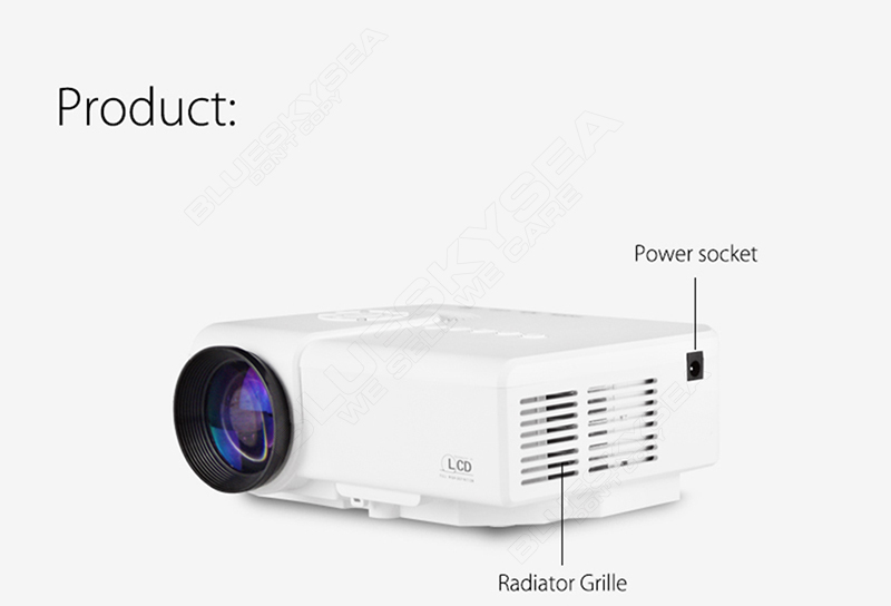 how to connect projector to set top box