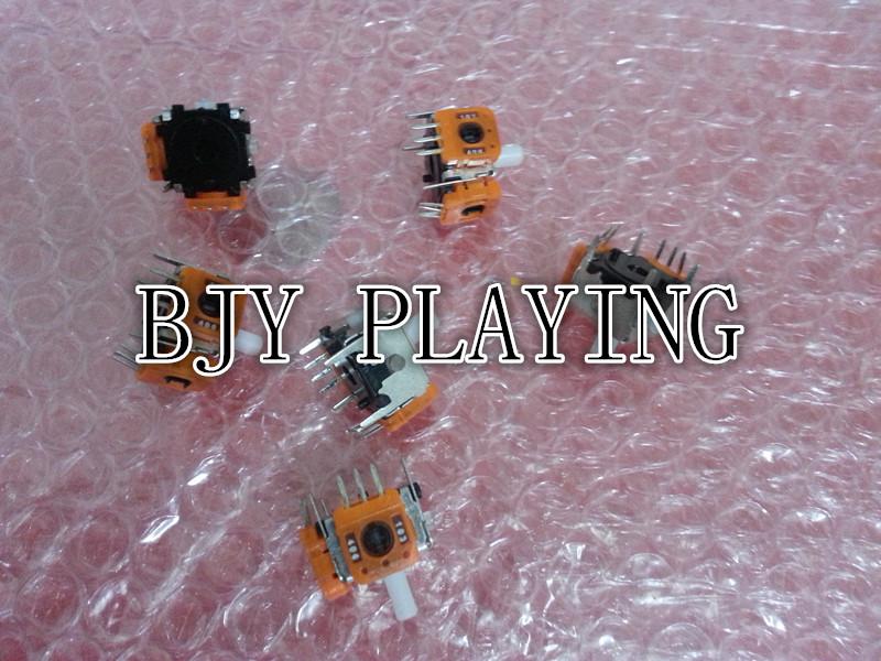 Brand New Accessories Parts Controller Joystick 3D Analog Joystick for N GC GameCube Controller Repair Parts 50pcs(China (Mainland))