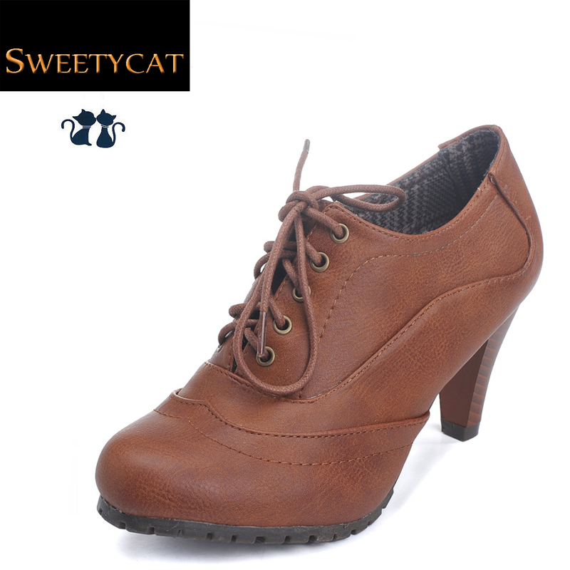 2015 New fashion Leather Boots women ankle boots ladies sexy high heels dress boots for women spring & autumn boots(China (Mainland))