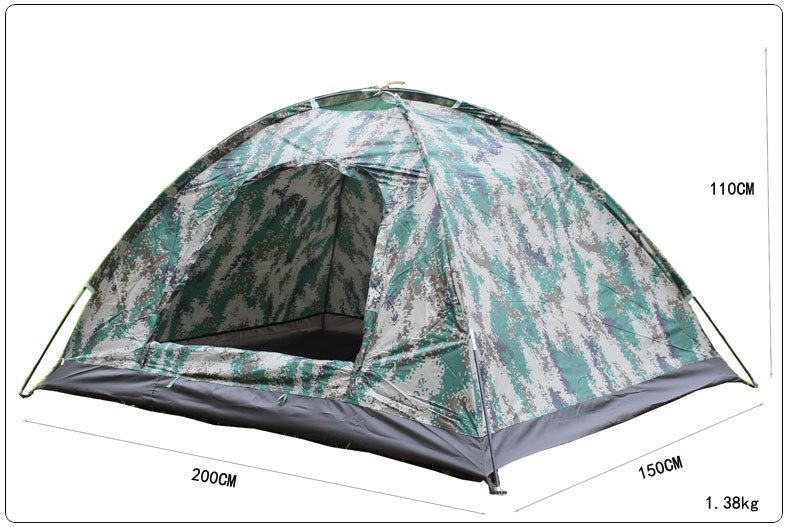NEW Outdoor Camping 2 Person Rainproof Digital Camouflage Tent High Quality Couples Tent 3 Seasons Light Weight<br><br>Aliexpress