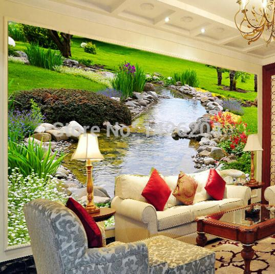 photo wall paper mural for living room chinese wallpaper. Black Bedroom Furniture Sets. Home Design Ideas