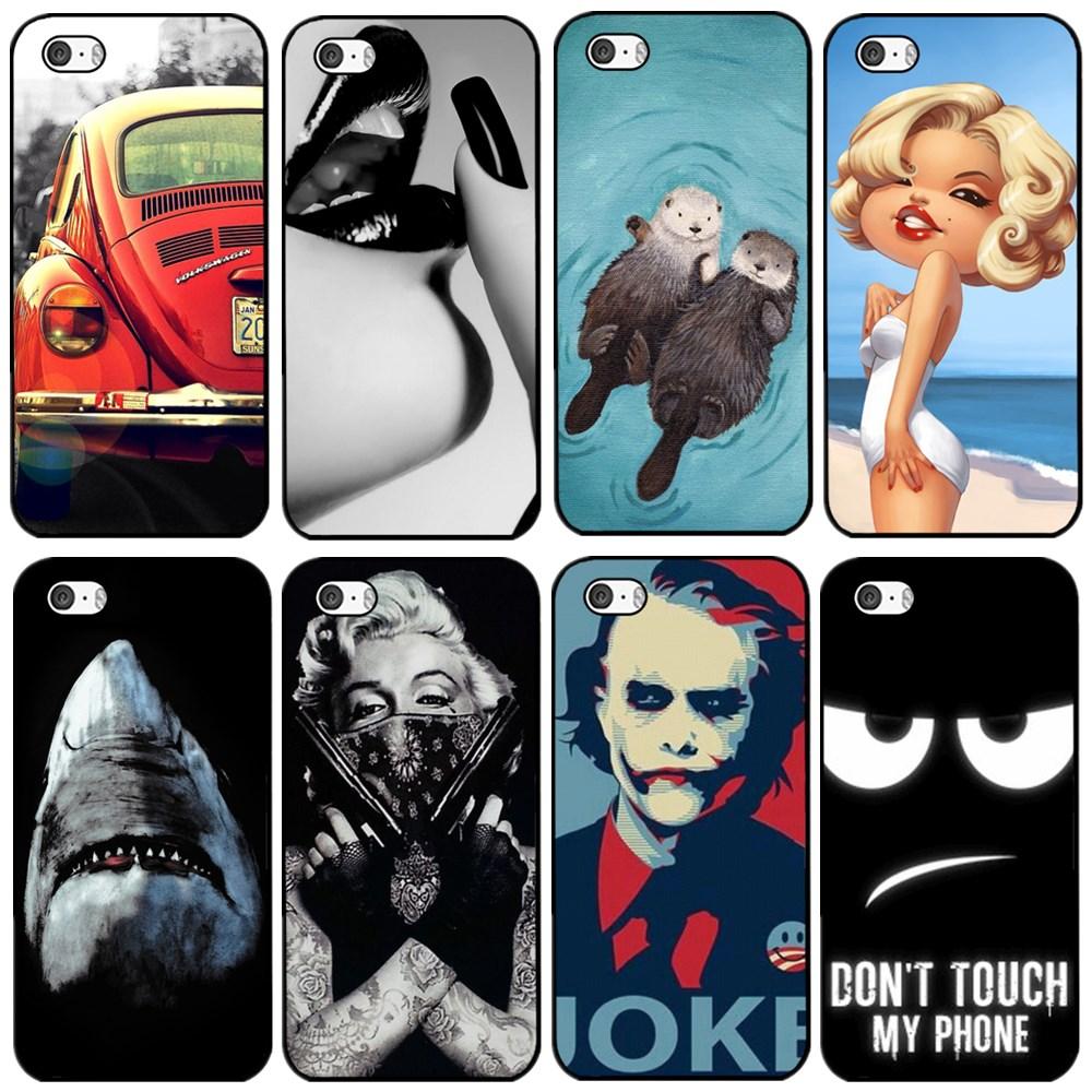 Гаджет  2015 New Fashion Monroe Joke balloon Hard Back Cover Case for Apple iPhone 4 4S None Телефоны и Телекоммуникации