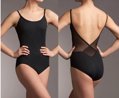 Hot selling Black Fashion Sexy Dancewear Ballet Leotard gymnastics Exercise girl dance clothes ballet leotard gym suit adult