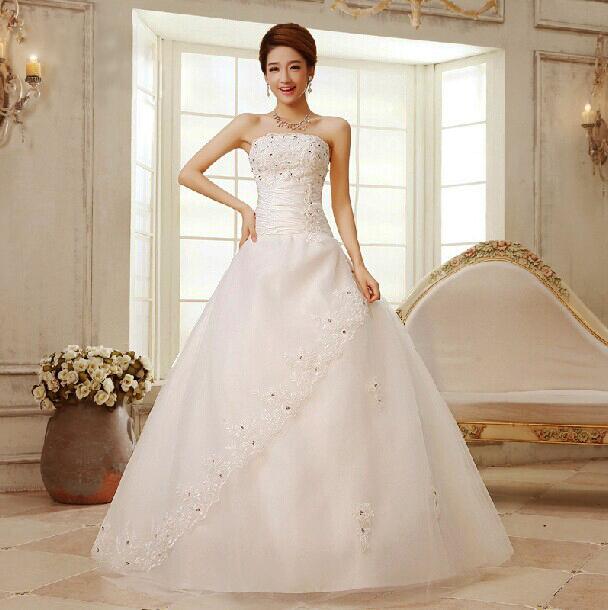 купить Свадебное платье Sarahbridal 2015 vestido noiva TJ003 недорого