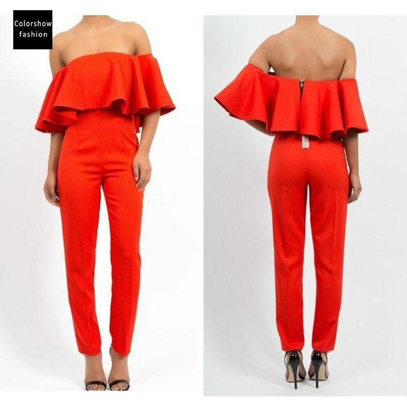 Perfect Online Buy Wholesale Orange Jumpsuit From China Orange Jumpsuit