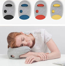 Cool Magical Ostrich Pillow Mini Light Comfortable Office Nod Off Portable Napping Travelling Glove Arm Hand Pillow Cool Gift(China (Mainland))