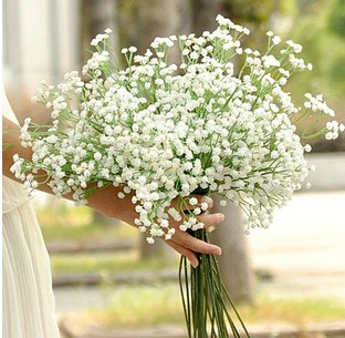 Artificial Baby Breath artificial flowers Wedding Bouquet Simulation Flowers Floral Decor simulation flower - BALALA ONLINE SHOP store